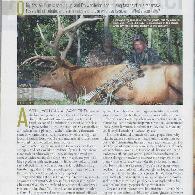 Curt Wells, BOWHUNTER Magazine