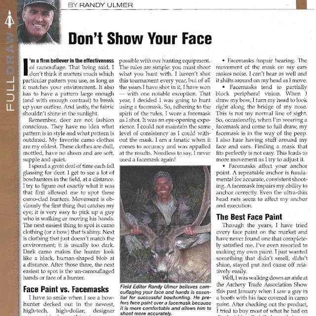 Randy Ulmer, Petersen's Bowhunting